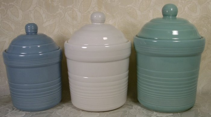 GENUINE SONOMA HOME GOODS CANISTER SET MULTICOLOR