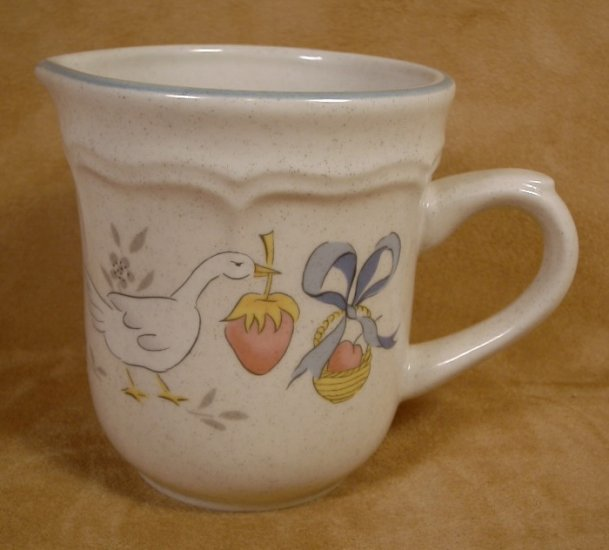 INTERNATIONAL CHINA MARMALADE GEESE CREAM SYRUP PITCHER
