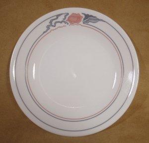 CORELLE ROSE DUO DESSERT PLATES SET OF 4