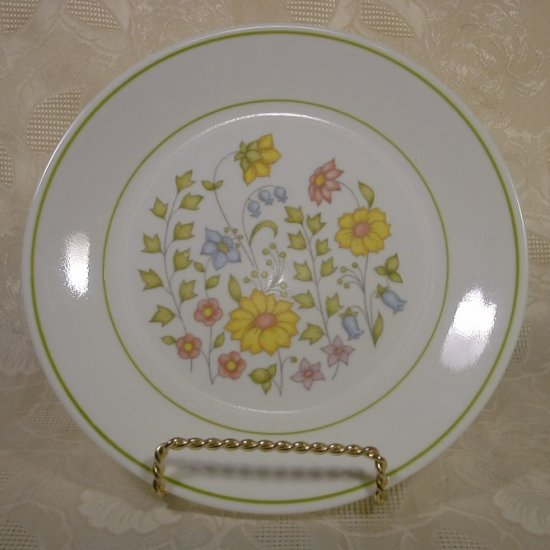 CORELLE SPRING MEADOW LUNCHEON PLATES SET OF 4 *Very Good Condition*