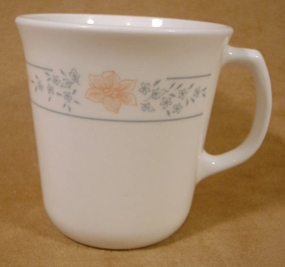 CORELLE APRICOT GROVE TAPERED MUGS SET OF 4