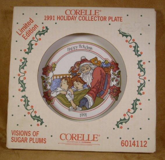 CORELLE 1991 VISIONS OF SUGAR PLUMS  DINNER PLATE *NIB*