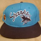 NHL CENTER ICE BASEBALL HAT SAN JOSE SHARKS NWT SIZE 7 *SHIPS FREE*
