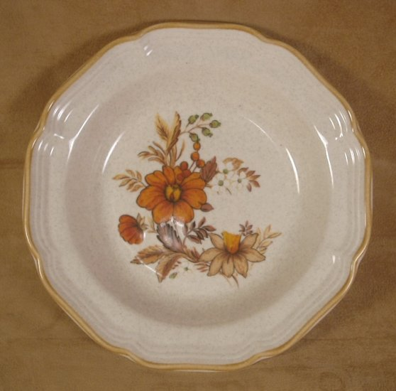MIKASA GARDEN CLUB HARVEST BOUQUET SOUP/CEREAL BOWLS