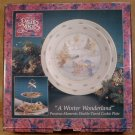 ENESCO PRECIOUS MOMENTS A WINTER WONDERLAND 2 TIER TRAY