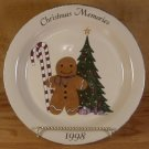 HOME & GARDEN PARTY 1998 CHRISTMAS MEMORIES PLATE *MIB*