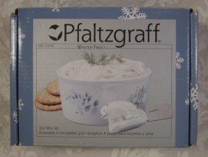 PFALTZGRAFF WINTER FROST BEAR 2 PC. DIP MIX SET  *MIB*