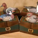 AVON LOT OF 4 DUCKS  FROM COLLECTOR DUCK SERIES *VGC*