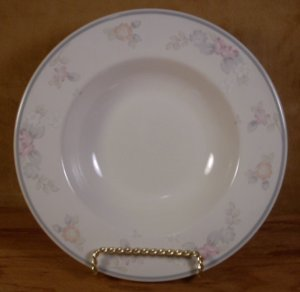 PFALTZGRAFF WYNDHAM STONEWARE PASTA BOWLS FLAT RIMMED EXCELLENT USED CONDITION