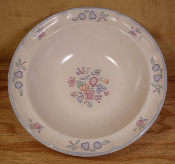 INTERNATIONAL CHINA WELCOME HOME VEGETABLE SERVING BOWL