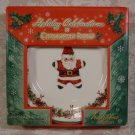 RADKO HOLIDAY CELEBRATIONS SALAD PLATES SET OF 4 *NIB*