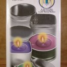 CANDLE CREATIONS TIN CONTAINER CANDLES REFILL KIT *NEW*