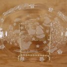 MIKASA HOLDIAY LIGHTS CRYSTAL ANGELS SWEET CANDY DISH