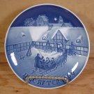 BING GRONDAHL 1969 DENMARK PORCELAIN CHRISTMAS PLATE EC
