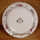 PFALTZGRAFF SNOW VILLAGE CHRISTMAS DINNER PLATES *EUC*