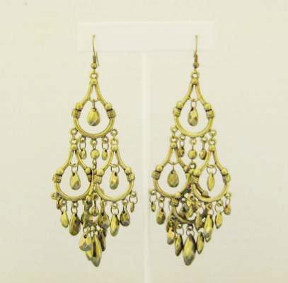 Bronze Chandelier Earings
