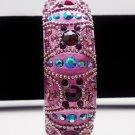 Luxe Pink Swarovski Bracelet