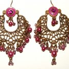 """Inspired By Nature"" gipsy chandelier earrings"