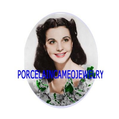 GONE WITH THE WIND SMILING SCARLETT UNSET PORCELAIN CAMEO CABO