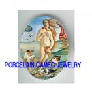 GODDESS THE BIRTH OF VENUS 3 PLAYFUL KITTY CAT CAMEO PORCELAIN CABO