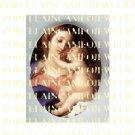 CATHOLIC VIRGIN MARY BABY JESUS MADONNA CHILDUNSET PORCELAIN CAMEO CAB 22-8