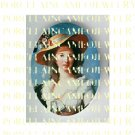 VICTORIAN ROYAL LADY WITH FLOWER HAT* UNSET PORCELAIN CAMEO CAB