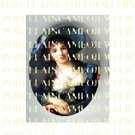 VICTORIAN ROYAL LADY IN BLUE DRESS* UNSET PORCELAIN CAMEO CAB