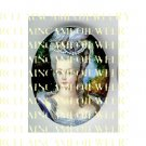 JEWELED FRENCH QUEEN MARIE ANTOINETTE * UNSET PORCELAIN CAMEO CAB
