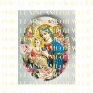 CATHOLIC VIRGIN MARY BABY JESUS ROSE ANGEL MADONNA CHILD * UNSET PORCELAIN CAMEO CAB