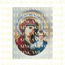 CATHOLIC VIRGIN MARY BABY JESUS MADONNA CHILD UNSET PORCELAIN CAMEO CAB 25-20