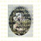 CROWN VIRGIN MARY BABY JESUS MADONNA CHILD PORCELAIN CAMEO 8-6