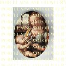 CATHOLIC VIRGIN MARY JESUS MADONNA CHILD PORCELAIN CAMEO CAB 9-8
