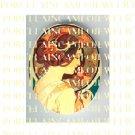 ALPHONSE MUCHA ART NOUVEAU FLOWER LADY PORCELAIN CAMEO CAB 58-10