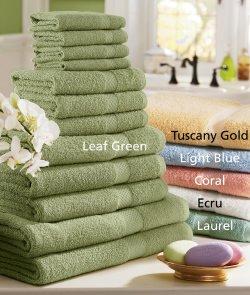 12 Piece Inspiration Towel Set