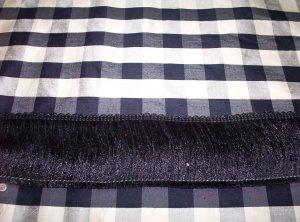 "3"" Cut Brush Fringe 11692-R01-Black 16.99"