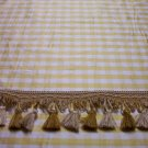 Tassel Fringe, 104-C583, Alternating Gold, Off White - 19.95-FS