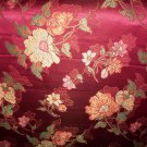 Red-Orange-Yellow Floral Fabric- 14.95per yd-FS