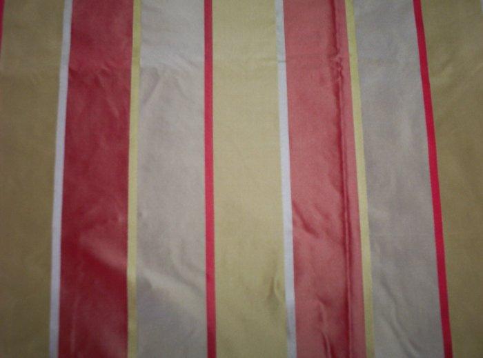 Silk Fabric, Stripe, Remy     23.95per yd-FS