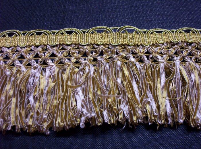 Ribbon Fringe, Felicity Gold Nugget   12.95-FS