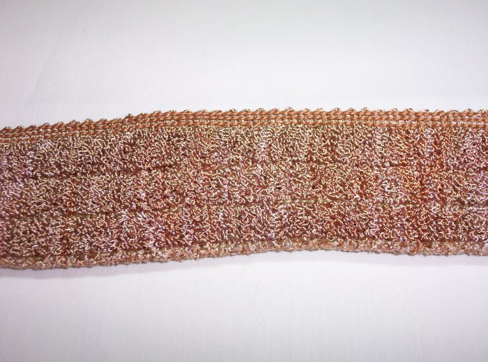 "2"" Curly Girly Fringe, BF-108, Gold- $12.99 per yd"