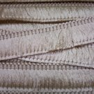 "1 1/2"" Brush Fringe Oyster Ivory Shiny 8.00 per yard"