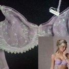 34e young attitude lavender lace underwired bra brand new with origina tag