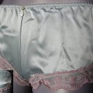 adora mint satin & pink boyshorts size medium new in packet with tags