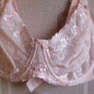 36dd figura contessa pink lace underwired bra BNWT