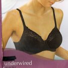 32dd ex m&s black aurelia lace bra underwired BNIB