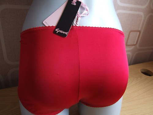 lg 14 to 16 sunset red gossard Cosmetix knicker short