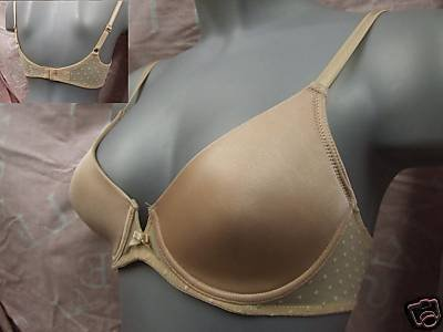 34a ex m&s camel padded smooth underwire t shirt bra