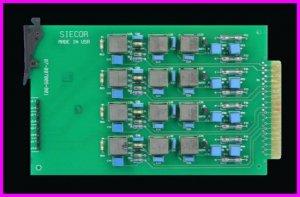 ** Siecor 07-007009-001 ADSL Quad Line Splitter PCB Quad with TP and DCB NEW **
