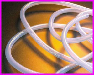 "10' Sani-Tech STHT-C-125-4 Platinum-Cured Medical Silicone Tubing 1/8"" x 3/8"""