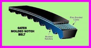 ** Gates Metric-Power Molded Notch SPB2410MN Belt SPB2410 MN NEW **
